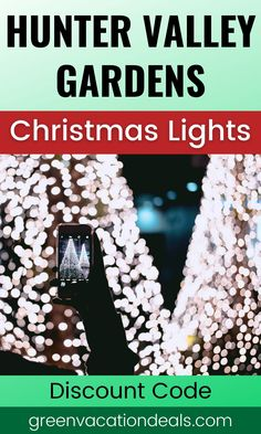 Looking for an amazing holiday lights experience in New South Wales, Australia? You should visit the Hunter Valley Gardens Christmas Lights Spectacular event in Pokolbin! The breathtaking Christmas light displays include Lovers Corner (in the shape of a heart - great for romantic photos), an 8 foot tall snowman, Candyland, Princess Castle, Fairy Garden & more. You can also enjoy fun rides. Find out how to save money with a discount code. #Christmas #NewSouthWales #Pokolbin #HolidayTravel
