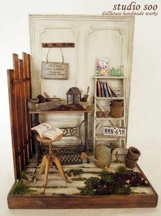 junk garden by studio soo, via Flickr