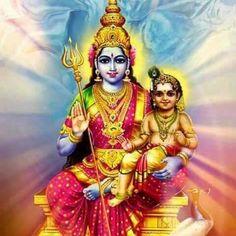 ParaShakti ⭐️ॐ.....z❤️NSpiceC🌶🦋Nov2018~*💕 Lord Murugan Wallpapers, Shiva Lord Wallpapers, Lord Shiva Pics, Lord Shiva Family, Baby Ganesha, Ganesha Art, Shiva Parvati Images, Shiva Shakti, Kali Goddess