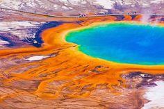 Le parc national de Yellowstone et ses 300 geysers