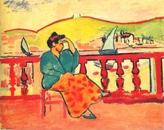 Woman on the Terrace by Henri Matisse, 1906