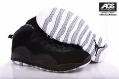 """Will you be copping the Air Jordan 10 """"Stealth"""" this March? Nike Free Shoes, Nike Shoes Outlet, Running Shoes Nike, Jordan Retro 10, Jordan 10, Louboutin High Heels, Christian Louboutin, Nike Air Jordans, Retro Jordans"""