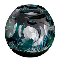 Winter Flower by Designer: Scott Sinclair - Hot House - Limited Editions - Paperweights | Caithness Glass Paperweights