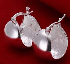 Cheap jewelry display, Buy Quality jewelry key directly from China jewelry knot Suppliers: earrings , 925 jewelry silver plated fashion jewelry , /cfgakwna dwoamnva Bronze Jewelry, Sterling Silver Jewelry, 925 Silver, Silver Ring, Moon Earrings, Silver Hoop Earrings, Stud Earrings, Silver Bracelets, Beautiful Earrings