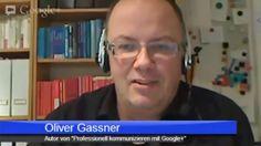 Herr Oliver Gassner im Interview über sein Google+ Buch. Youtube Kanal, Google, Interview, Social Media, Psychics, Night, Social Networks, Social Media Tips