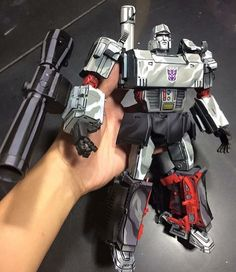 Megatron from Transformers custom paint by LEK customs