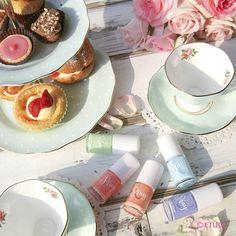 #꽃 #향기 가 피어나는 #오후의 발견 너는 어떤 #향기 로 물들고 싶니? #로맨틱 #성공적 #사교행사  #etude #에뛰드 #에뛰드하우스 #3월신상 #플레이네일 #시럽네일 #로맨틱사교행사 #신나는티페어링 #오후의발견 #한잔의티톡스☕ #마법의블렌딩 #Tea #finger✌☝ #touch #syrup