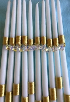 Swarovski Cross Easter Candle