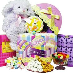 Art of Appreciation Gift Baskets Easter Egg-Stravaganza Chocolate and Candy Gift Box with Plush Bunny Rabbit - http://mygourmetgifts.com/art-of-appreciation-gift-baskets-easter-egg-stravaganza-chocolate-and-candy-gift-box-with-plush-bunny-rabbit/