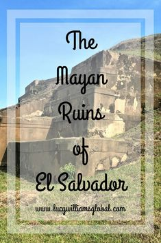 The Mayan Ruins of El Salvador -  I visited two pre-Hispanic archaeological sites. The Mayan Ruins of San Andrés and the UNESCO World Heritage Site Joya de Ceren. #elsalvador #centralamerica #cruise