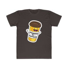 This black Coffee Cup T-Shirt is so funny! Best Gift For Any Coffee Drinkers! There's no better coffee drinkers' gift than this coffee cup t-shirt. Coffee World, Coffee Accessories, Custom Tee Shirts, Coffee Drinkers, Black Coffee, Best Coffee, Coffee Cups, Shirt Style, Best Gifts