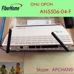 #FiberHome GPON ONU# AN5506-04-F, With Wifi, PPPoE, 4*Lan Ports, 2* VOIP. Estamos com 200 peças do novo lançamento ONU da FiberHome em promoção. Entre em contato e aproveite nossa promoção! @Skype: APCHAN9 E-mail: apchan9@gmail.com