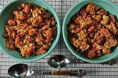 Granola Recipe -- easy to work with, even if you don't have all the ingredients -- don't overbake!