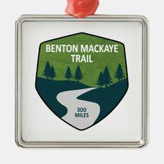 Benton MacKaye Trail Metal Ornament   hiking beginner, hiking photography ideas, hiking quotes mountain #hikingslo #hikingpuppy #hikingtravel Hiking Gifts, Hiking Gear, Hiking Backpack, Hiking Trails, Hiking Staff, Hiking Training, Hiking Food, Camping Gifts, John Muir
