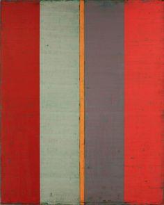 "peinture abstraite US : Steven Alexander, 2011, ""Is & Was 4"", 2010s, rayures"