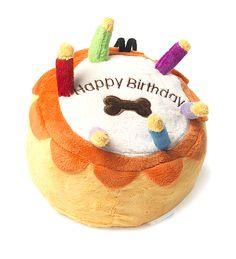 House of Paws Happy Birthday Cake Toy