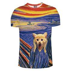 Screameou t-shirt - mrgugu - Koszulki z nadrukiem
