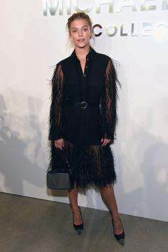 When You Look This Good at Fashion Week, You Have to Sit Front Row Nina Agdal At Michael Kors.
