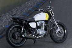 Kawasaki W800 Dirt Track x Philippe Starck x Boxer Design