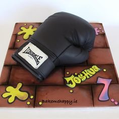 Boxing glove cake by Elaine Boyle