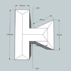Lichtvoute Dezent / für Ausleuchtung der Wand und Decke