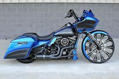 Harley-Davidson : Touring 2015 road glide custom 1 of a kind 26 wheel over 30 k in xtra s wow Harley Davidson Street Glide, Harley Davidson Motorcycles, Custom Motorcycles, Harley Bikes, Custom Bikes, Bagger Motorcycle, Motorcycle Style, Road Glide Custom, Side Car
