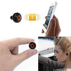 V3.0 Bluetooth stéréo In-Ear Microphone pour iPhone iPad et autres (couleurs assorties) – EUR € 12.87