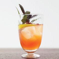 Rosé, honey-sage syrup, lemon twist // More Fabulous Wine Cocktails: http://www.foodandwine.com/slideshows/wine-cocktails #foodandwine