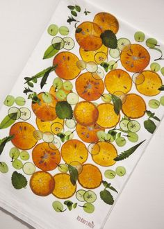 Oranges and Herbs