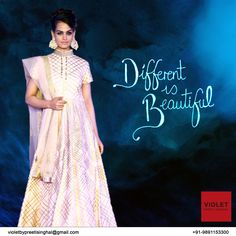 Look Different this #Navratra.  +91-9891153300 | violetbypreeti@gmail.com www.preetisinghal.com