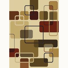 null Jazz Linen 7 ft. 10 in. x 10 ft. 6 in. Contemporary Area Rug