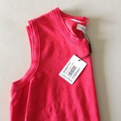 Calvin Klein Top Calvin Klein Ribbed Pullover Sweater Top Color: Watermelon Pink Size: L Material: 80% rayon, 20% nylon Calvin Klein Tops