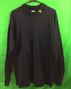"Fruit Of The Loom, Lofteez, ""Forget The Wind.Just Hunt"" Black, Long Sleeve, Black, T-Shirt. Size: XL. | eBay!"