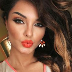 love this for a spring or summer even fall makeup look..