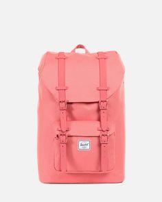 Herschel Supply Co. Backpack MOCHILA LITTLE AMERICA MID VOLUME - Flamingo  Rubber  accesorios   10237dbeb3509