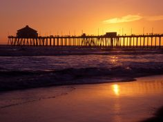Missing long walks on the beach at sunset and long walks on the pier.