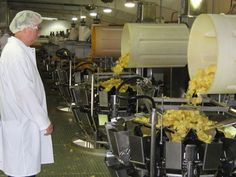 Inside Detroit's Better Made potato chip factory