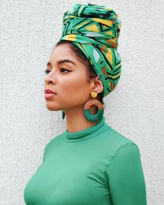 Today I wanted to share with you some beautiful headwrap styles that are worn by some stunning ladies. I absolutely love head wraps. I actually need to invest in some more scarves myself. It gives me a break from having to do too much to my hair apart fro Hair Wrap Scarf, Hair Scarf Styles, Head Wrap Headband, Curly Hair Styles, Natural Hair Styles, Headwraps For Natural Hair, Scarf Hairstyles, African Hairstyles, Black Hairstyles