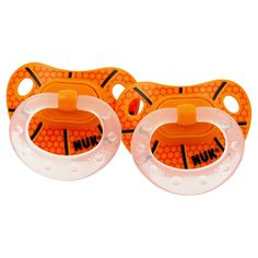 Bambino Balls now has Basketball Pacifiers (2 Pack) for only $4.95