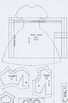 Hanky Dress Set Pattern | Flickr: Intercambio de fotos