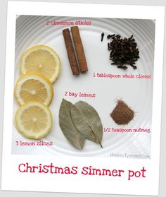 Simmerpot- pop it in the fridge and reuse to make the house smell like christmas