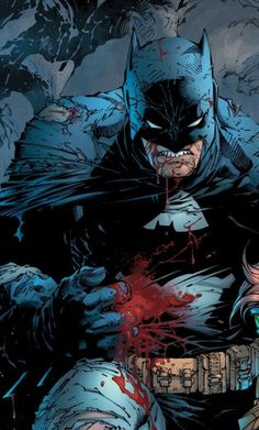 Batman (The Dark Knight III: The Master Race) by Jim Lee via Long Live The Bat More about batman here. Batman Metal, Batman Dark, Batman The Dark Knight, Batman And Superman, Batman Robin, Batman Arkham, Batman Artwork, Batman Comic Art, Spiderman Art