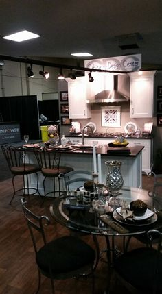 Cabinetry Design Center Showcasing Their Beautiful Kitchen Cabinets At The  March Fresno Home U0026 Garden Show