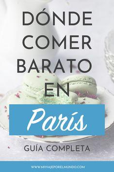 Qué y dónde comer barato en París. Restaurants In Paris, Travel Abroad, Travel Tips, Travel Hacks, Paris Love, Eurotrip, What A Wonderful World, Travel Scrapbook, World Traveler