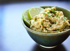 Roasted Jalapeño and Lime Hummus