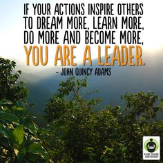 A big thank you to all the leaders who are helping make a better tomorrow (yes, that means you)! #FairTrade #inspirationalquotes #quotes