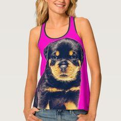 #Rottweiler Tank Top - #rottweiler #puppy #rottweilers #dog #dogs #pet #pets #cute