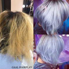 Lila-lavanda-silver Grey hair www.gaalhairplay.ro