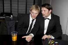 Mads Mikkelsen and Thure Lindhardt from Flame and Citron.