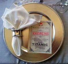 Recreating the Last Dinner on the Titanic - 11 course meal includes gorgeous photos and original recipes prepared by popular food blogger, Paula Costa